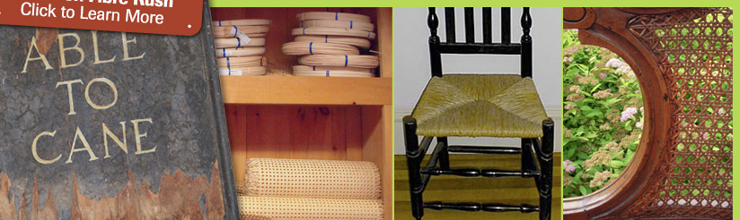 Chair Caning, Supplies, and Repair
